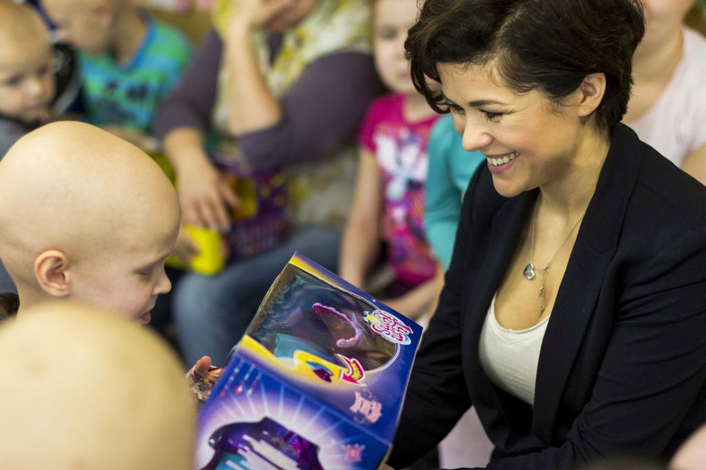 Spełnili marzenia w Centrum Zdrowia Dziecka