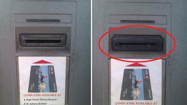 Kradzież danych z kart bankomatowych - skimming
