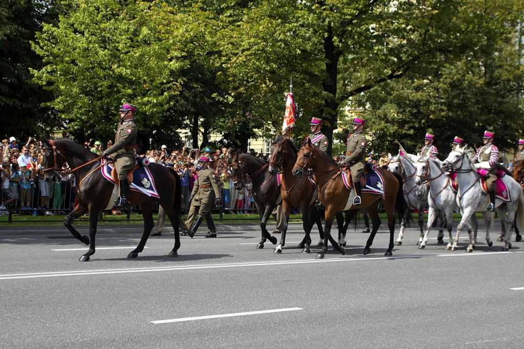 Rocznica Bitwy 1920 roku i Święto Wojska Polskiego 2014