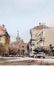 Maciej Zaborowski -  Malowanie na żywo