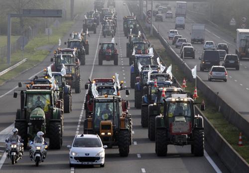Rolnicy zablokują Warszawę ?