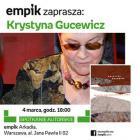 Krystyna Gucewicz zaprasza na promocję swojej książki