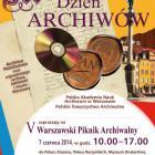 V Warszawski Piknik Archiwalny