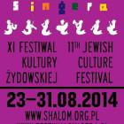 XI Festiwal Kultury Żydowskiej Warszawa Singera.