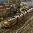 Wielka makieta kolejowa w Muzeum Kolejnictwa